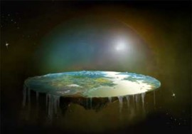 earth is a disk Chris Doof's view